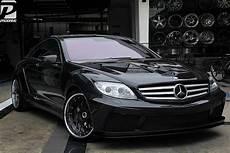 prior design black edition v2 mercedes cl widebody by