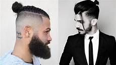 man bun hairstyles 2018 new top knot hairstyles for men 2018 youtube