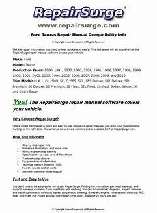 free auto repair manuals 1993 ford taurus electronic valve timing ford taurus online repair manual for 1990 1991 1992 1993 1994 1995 1996 1997 1998 1999