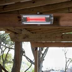 fire sense stainless steel wall mounted infrared patio