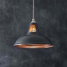 fusion pendant light matt dark grey copper artifact lighting