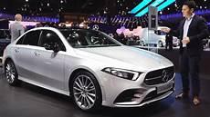 2019 mercedes a class sedan new review a class saloon