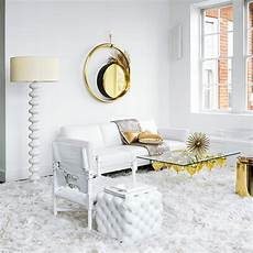 White And Gold Home Decor Ideas by White And Gold Living Room Decorating Ideal Home