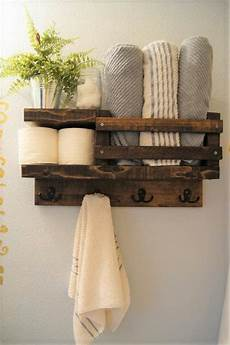 Badezimmer Handtuch Regal - bath towel shelf shelf bathroom wood shelf towel rack