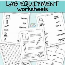 lab equipment worksheets itsy bitsy fun