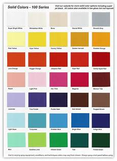 100 series solid color chart buy custom paint for your