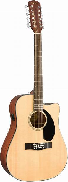 Fender Cd 60sce 12 Dreadnought Acoustic Electric Guitar