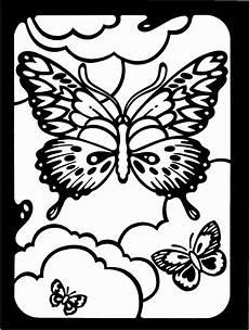 Ausmalbilder Gemusterte Tiere Gemusterte Schmetterlinge Ausmalbild Malvorlage