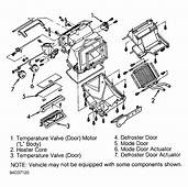 How To Remove Heater Blend Door Actuator On A 1999 Daewoo