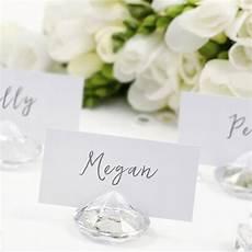 porte nom de table marque place en forme de diamant vendu par 10 en