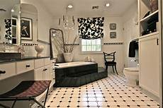 Black Tile Bathroom Ideas 21 Black And White Marble Tiles Bathroom Designs Ideas