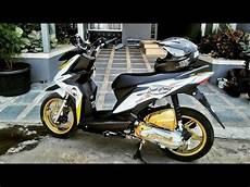 Honda Beat Modif Cross by Modif Honda Beat Putih Simpel Paling Keren