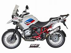 bmw r1200gs 2010 2012 sc1 oval exhaust by sc project