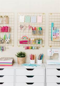 craft room makeover organization ideas design eat repeat