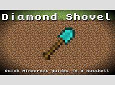 minecraft diamond shovel
