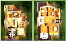 Modern House Zen 3d Floor Planhome Designing