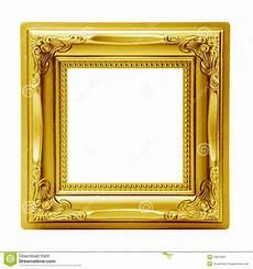 goldener bilderrahmen goldener getrennter bilderrahmen stockbild bild von