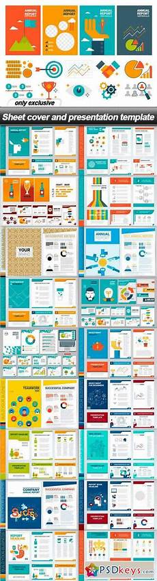 sheet cover and presentation template 19 eps 187 free download photoshop vector stock image via