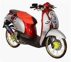 Scoopy Modif Klasik by Modifikasi Honda Scoopy Tak Lebih Ngejreng