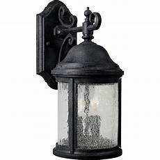 progress lighting ashmore collection 2 light textured black outdoor wall lantern p5649 31 the