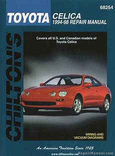 best car repair manuals 1998 toyota celica on board diagnostic system chilton toyota celica 1994 1998 repair manual ch68254 ebay