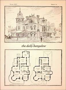 vintage victorian house plans modern cottages j h kirby architect victorian house