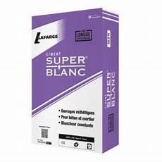 Ciment Blanc 25kg Castorama