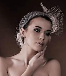 Coiffe Voilette Voile Headband C 233 R 233 Monie Coiffure Mari 233 E