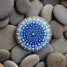 Artist Turns Stones Into Tiny Mandalas By Painting