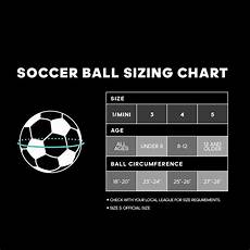 Jolly Ball Size Chart Soccer Ball Size Chart World Of Reference