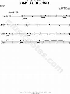 quot game of thrones cello quot from game of thrones sheet