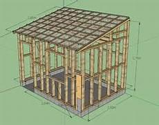 construction d une remise en bois r 233 alisation garage ossature bois les photos de la