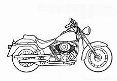 ausmalbilder zum ausdrucken gratis malvorlagen motorrad 1