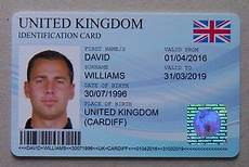 uk id card template personalised novelty blue uk id card holographic sticker