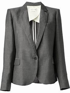 lyst 201 toile marant jacket jael blazer in gray