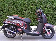 Modifikasi Scoopy Standar by Kumpulan Gambar Modifikasi Honda Scoopy Keren Elegan