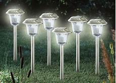 solar leuchten solarleuchten 6er set rosamunde produkte f 252 r