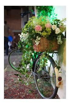 vintage secret garden wedding ideas bike with beautiful flowers garden wedding