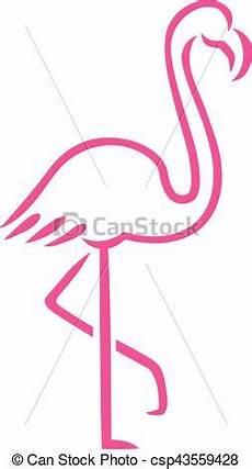 Comment Dessiner Un Flamant Pink Flamingo Lines