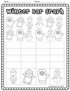 winter graphing worksheets kindergarten 20011 and winter literacy and math activities math math activities math