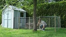 kaninchenstall mit auslauf teil 1