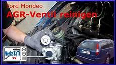 mondeo mk3 agr ventil reinigen wechseln clean replace