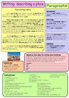 describing places worksheets printables 15977 writing tips 4 describing a place step by step b w