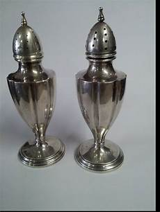 salt and silver vintage silver plated salt and pepper shakers sted
