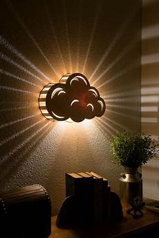 cloud night light wooden wall hanging bedside l kid s room and nursery decor in 2019