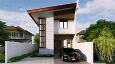 2 story house design with floor plan youtube