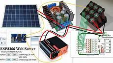 Solaranlage Mit Energiespeicher Konzept Eigenbau