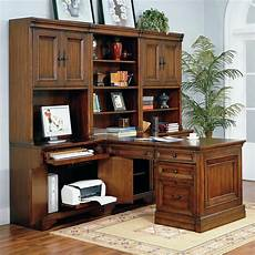 home office furniture austin tx richmond modular peninsula desk wall by aspenhome becker