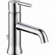 Faucets Single Handle by Delta Faucet 559lf Mpu Trinsic Polished Chrome One Handle