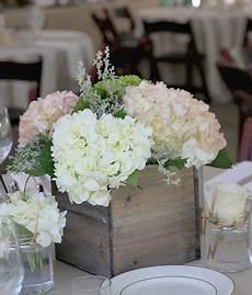 hortensien tischdeko hochzeit weiss vintage shabby